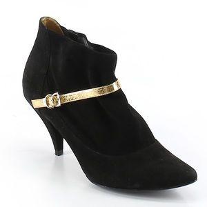 Singerson Morrison Target Black Bootie Heels 10